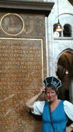 grafsteen Erasmus met mij